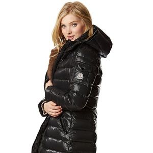 Moncler Moka coat xs Black